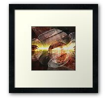 Virulent Reality Framed Print