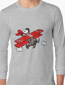 red baron Long Sleeve T-Shirt