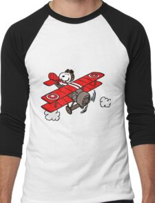 red baron Men's Baseball ¾ T-Shirt