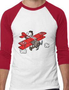 red baron Men's Baseball ¾ T-Shirt