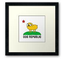 Ooo Republic Framed Print