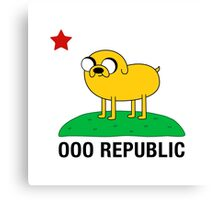 Ooo Republic Canvas Print