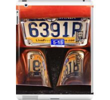 Tail pipes iPad Case/Skin