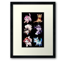 League of Legends Cats ! Framed Print
