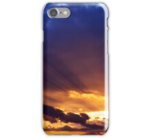 Sun Rays After The Storm iPhone Case/Skin