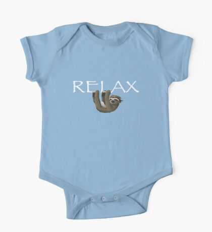 Relax Sloth One Piece - Short Sleeve