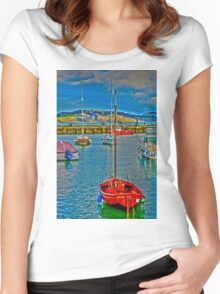 Harbour HDR Women's Fitted Scoop T-Shirt
