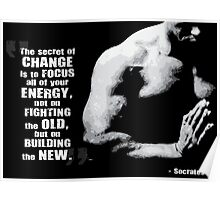 The Secret of Change Poster