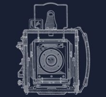 Vintage Photography - Graflex Blueprint by brainsontoast