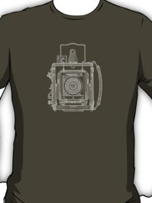 Vintage Photography - Graflex Blueprint T-Shirt