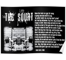 The Squat Poem Poster