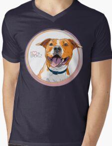 American Staffordshire Terrier Mens V-Neck T-Shirt