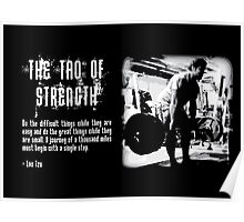 The Tao of Strength Poster