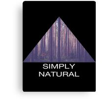 Simply Natural Forest Canvas Print