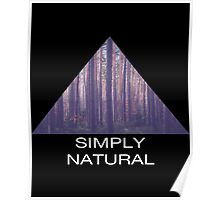 Simply Natural Forest Poster