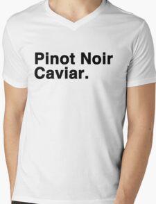 Pinot Noir Caviar Mens V-Neck T-Shirt