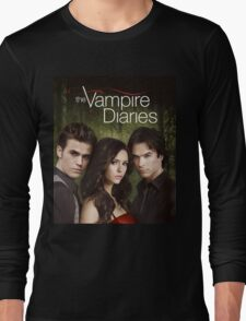 The Vampire Diaries Cover Long Sleeve T-Shirt
