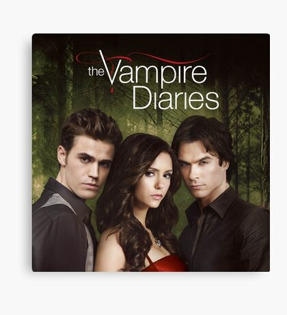 The Vampire Diaries Cover Canvas Print