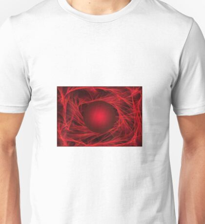 Abstract red Unisex T-Shirt