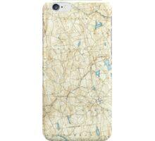USGS TOPO Map Connecticut CT Gilead 331030 1892 62500 iPhone Case/Skin