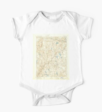 USGS TOPO Map Connecticut CT Gilead 331030 1892 62500 One Piece - Short Sleeve