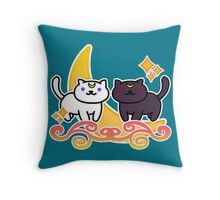 Neko Atsume / Sailor Moon Throw Pillow