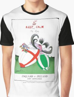 Rugby Balls! england v ireland, tony fernandes Graphic T-Shirt