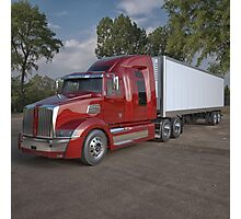 Western Star Semi Truck Photographic Print