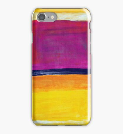 Rothko Appreciation iPhone Case/Skin