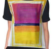 Rothko Appreciation Chiffon Top