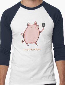 Instaham Men's Baseball ¾ T-Shirt
