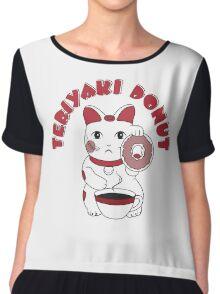 Teriyaki Donut Chiffon Top