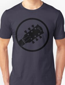 gibson  stylized headstock black Unisex T-Shirt