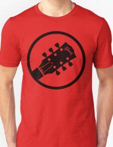 gibson  stylized headstock black Unisex T-Shirt
