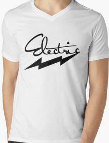 electric 1 Mens V-Neck T-Shirt