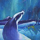 Celestial Badger by Lesley D McKenzie