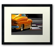 1950 Mercury Custom Framed Print