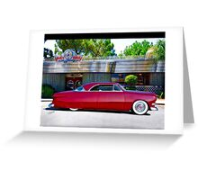 1951 Ford Custom Victoria Greeting Card