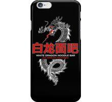 White Dragon Noodle Bar iPhone Case/Skin