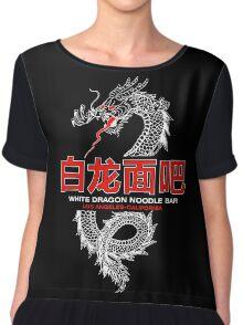 White Dragon Noodle Bar Chiffon Top