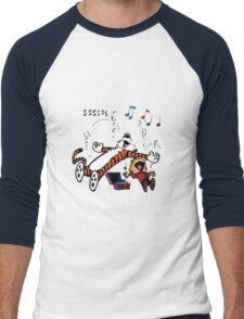 Calvin and Hobbes Sleep Men's Baseball ¾ T-Shirt