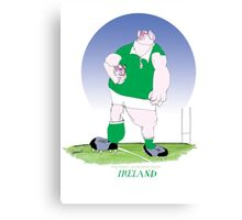 Rugby Ireland champion, tony fernandes Canvas Print