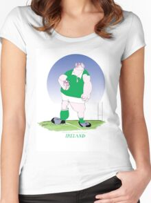 Rugby Ireland champion, tony fernandes Women's Fitted Scoop T-Shirt