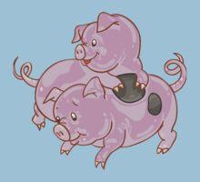 Lovely Pig Kids Tee