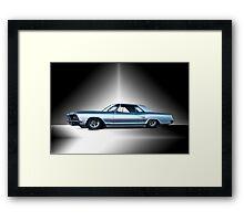 1963 Buick Custom Riviera Framed Print