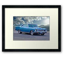 1966 Chevrolet Nova SS Framed Print