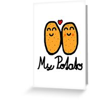 My Potato Greeting Card