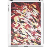 Schwarz Rot Gold iPad Case/Skin