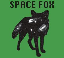 Fox - Filled with Space  Kids Tee