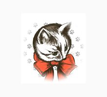 kitten wth red bow sketch Unisex T-Shirt